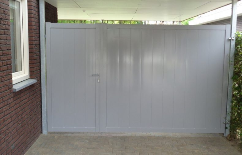 Aluminium poort