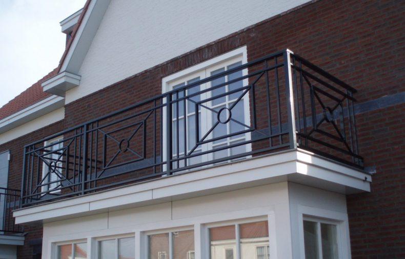 Balkonhekwerk